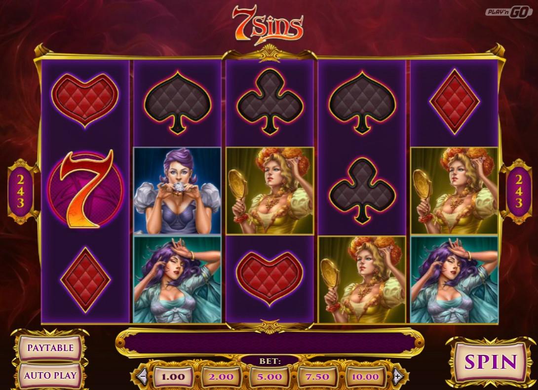 Игровой автомат 7 sins производство игровых автоматов в россии