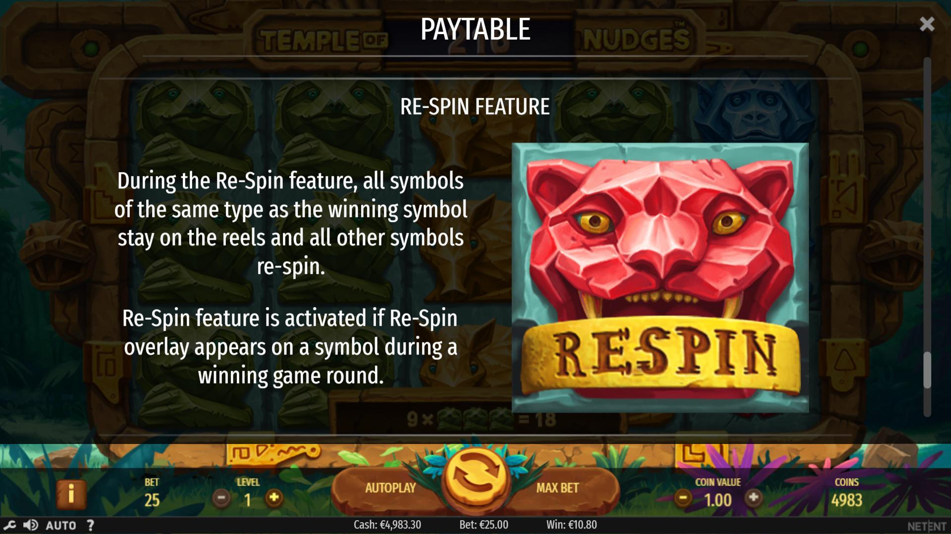 Игровой автомат Temple of Nudges играть онлайн на деньги в казино NetGame