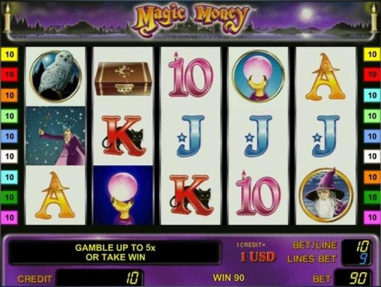 играть игровой автомат magic money играть онлайн