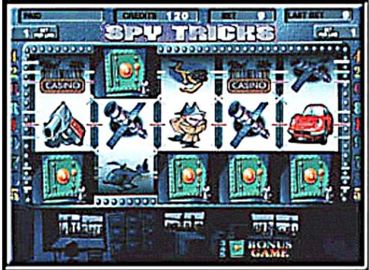 игровой автомат spy tricks играть бесплатно