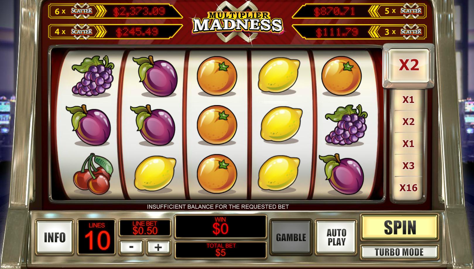 игровой автомат много на дватьсять