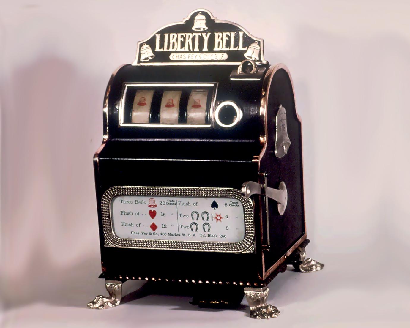 зависимость первые механические игровые автоматы назывались колокол свободы появились еще