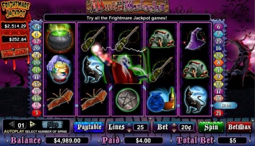 ведьмы игровые автоматы